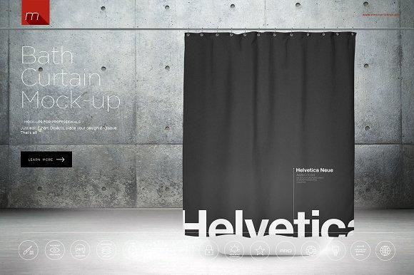 Download Bath Curtain Mock-up