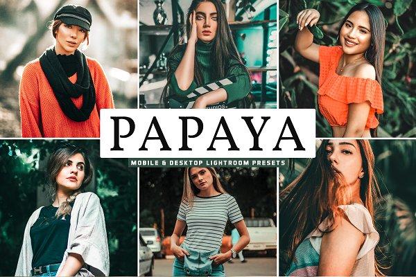 Papaya Lightroom Presets Pack