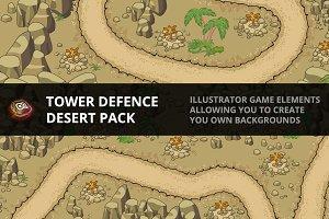Tower Defence - Desert Pack 1