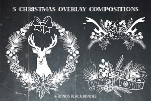 Christmas overlay compositions 01