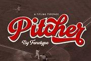 Pitcher - baseball script