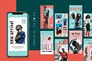 Meemo - Instagram Stories Template