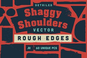 Shaggy Shoulders Vector Shapes