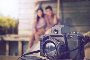 love on camera vintage
