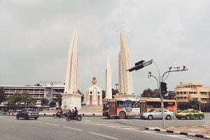 Democracy monument , Bangkok