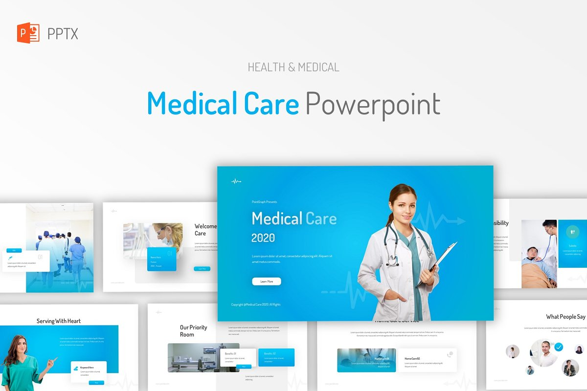 Medical Care Powerpoint in PowerPoint Templates