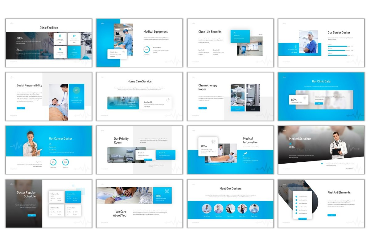 Medical Care Powerpoint in PowerPoint Templates - product preview 2