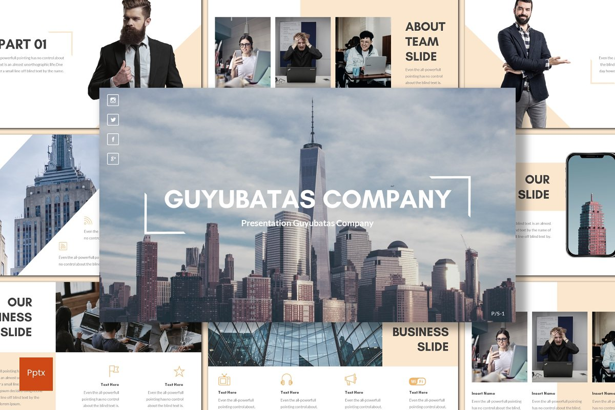 Guyubatas - Powerpoint Template