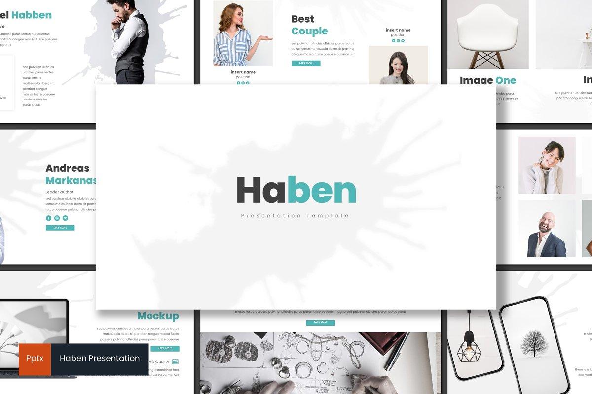 Haben - Powerpoint Template