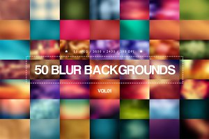 50 Blur Backgrounds _ Vol.01