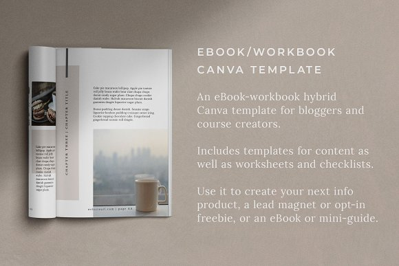Workbook/eBook Canva Template | Mio in Magazine Templates - product preview 9
