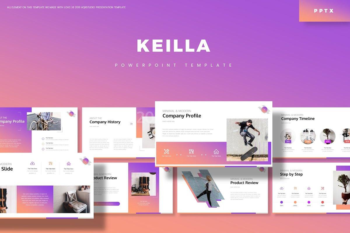 Keilla - Powerpoint Template