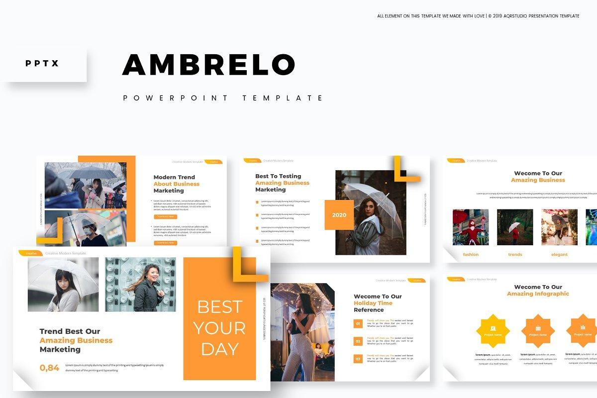 Ambrelo - Powerpoint Template