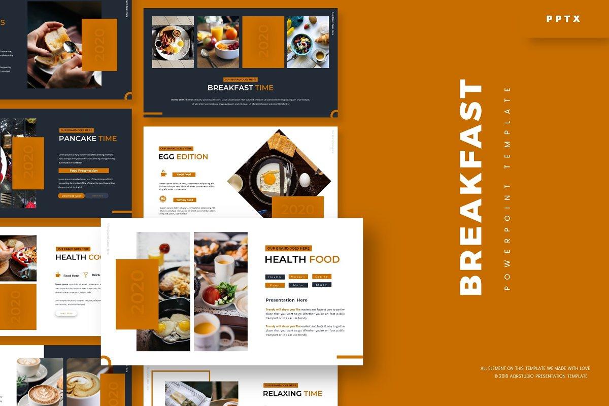 BreakFast - Powerpoint Template