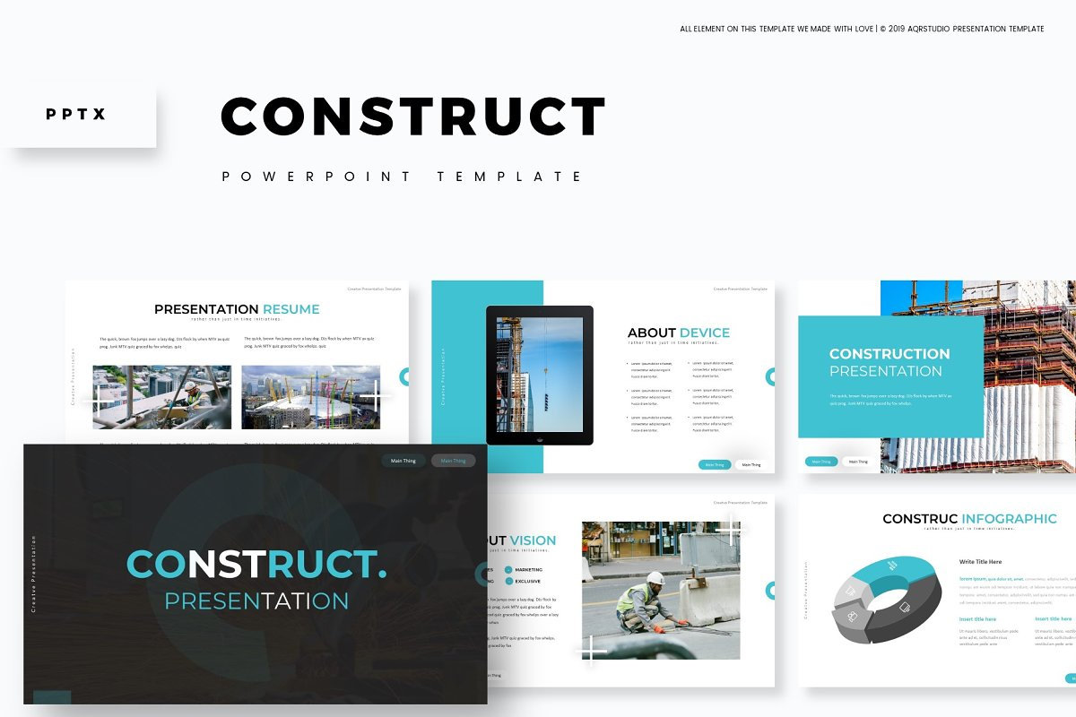 Construct - Powerpoint Template