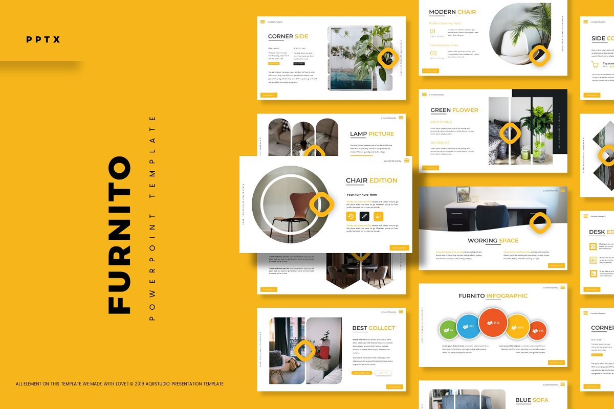 Furnito - Powerpoint Template