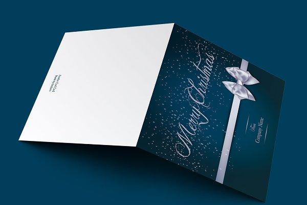 Merry Christmas Greeting Card V1