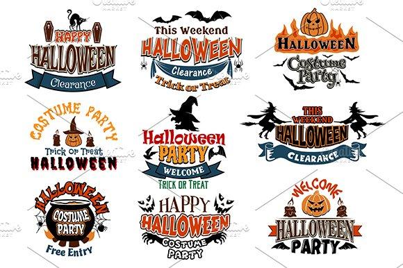 Halloween vector designs