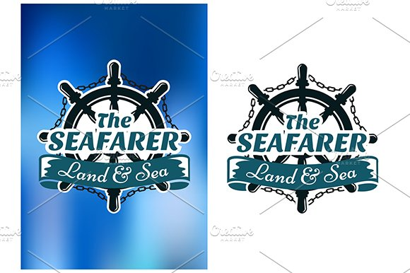 Nautical themed poster The Seafarer