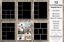8.5x11 Photo Album Template Pack 2