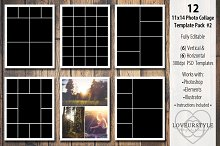 11x14 Photo Collage Template Pack 2