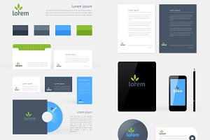 Stationery Branding Mock-Up template