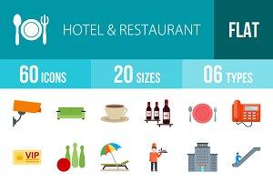 60 Hotel&Restaurant Flat Multicolor