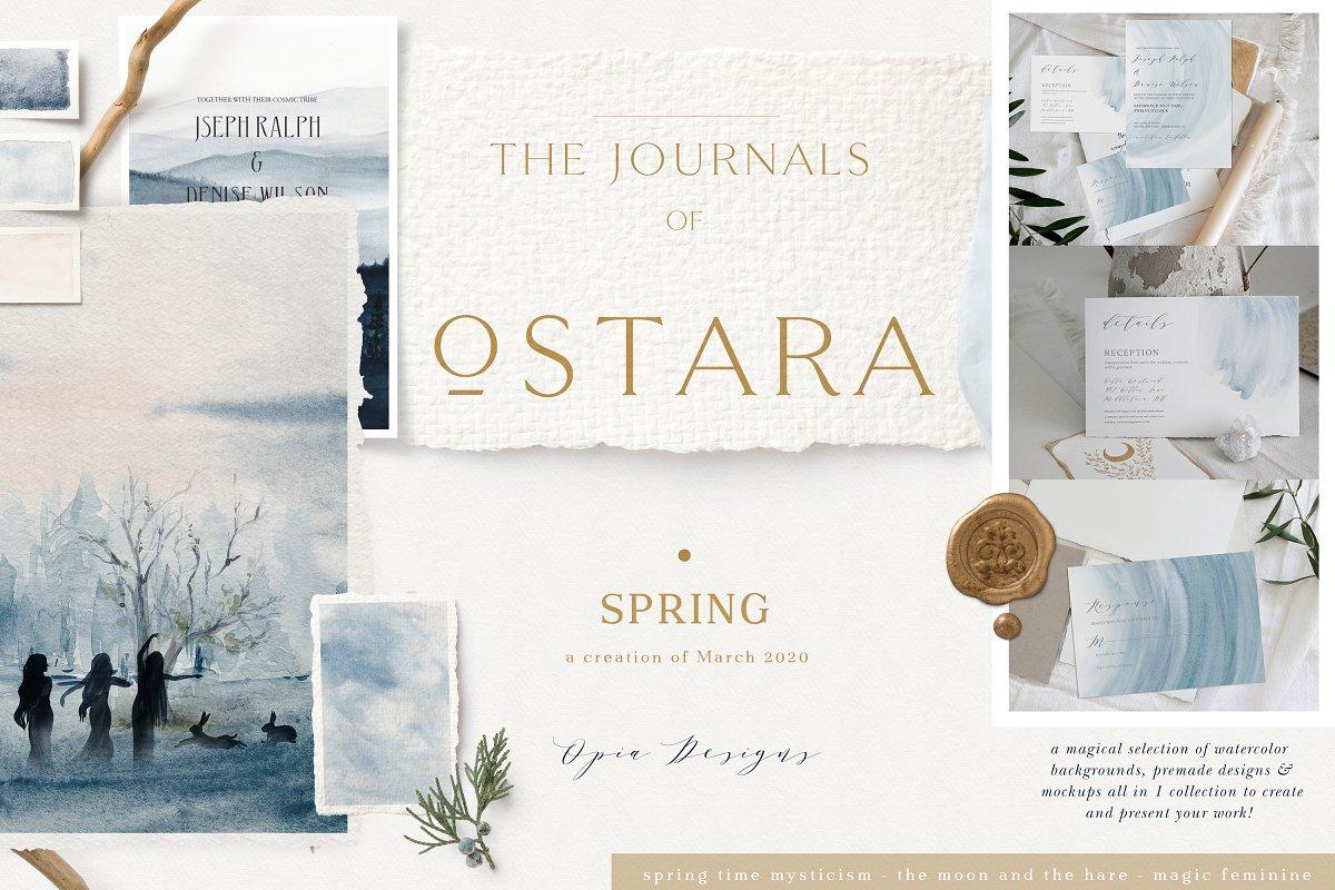 Ostara - Spring Rituals & Mockups