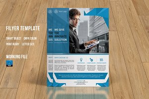 Corporate Flyer Template-V130