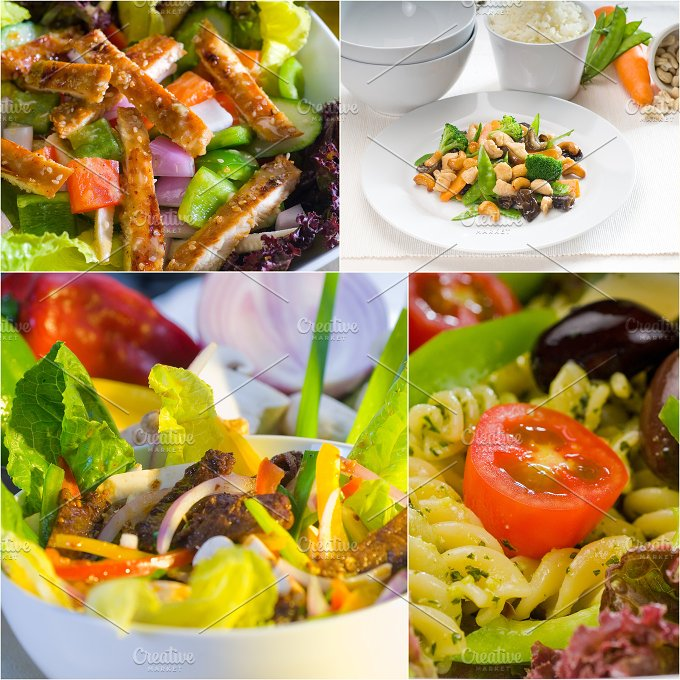 salad collage 14.jpg - Food & Drink