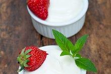 organic Greek yogurt and  strawberries 001.jpg