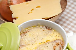 onions soup with melted cheese and toasts on top 01.jpg