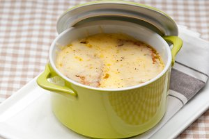 onions soup with melted cheese and toasts on top 02.jpg