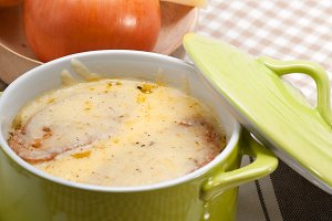 onions soup with melted cheese and toasts on top 23.jpg