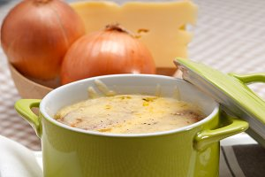 onions soup with melted cheese and toasts on top 28.jpg