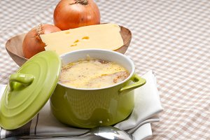 onions soup with melted cheese and toasts on top 34.jpg