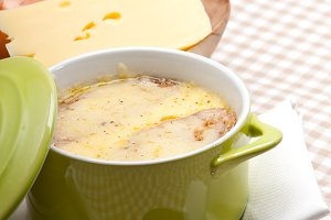 onions soup with melted cheese and toasts on top 35.jpg