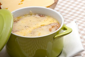 onions soup with melted cheese and toasts on top 37.jpg