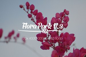 Flora Photo Pack V3