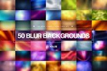 50 Blur Backgrounds - Vol.02