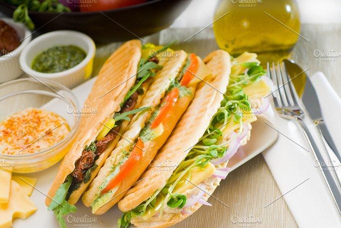 mix italian panini sandwich 6.jpg - Food & Drink