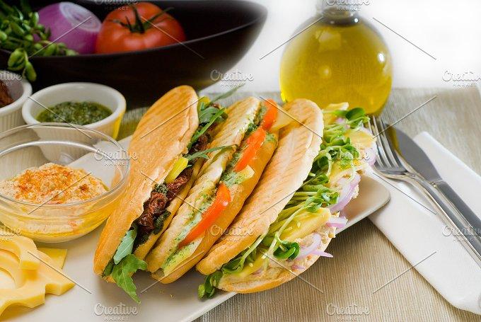 mix italian panini sandwich 8.jpg - Food & Drink