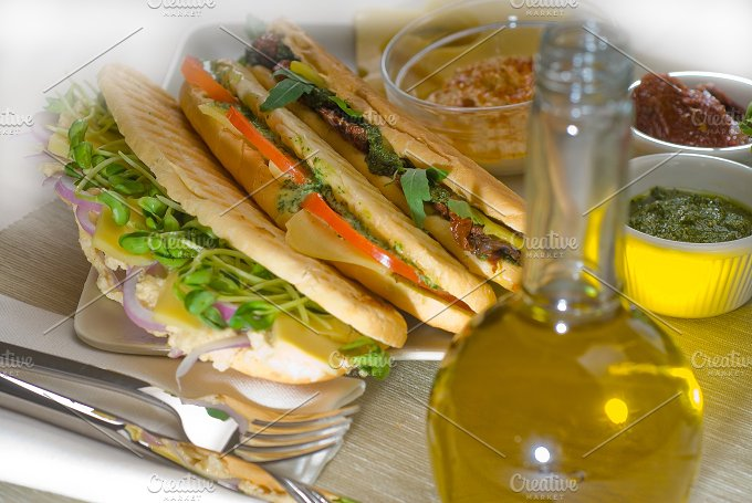 mix italian panini sandwich 9.jpg - Food & Drink