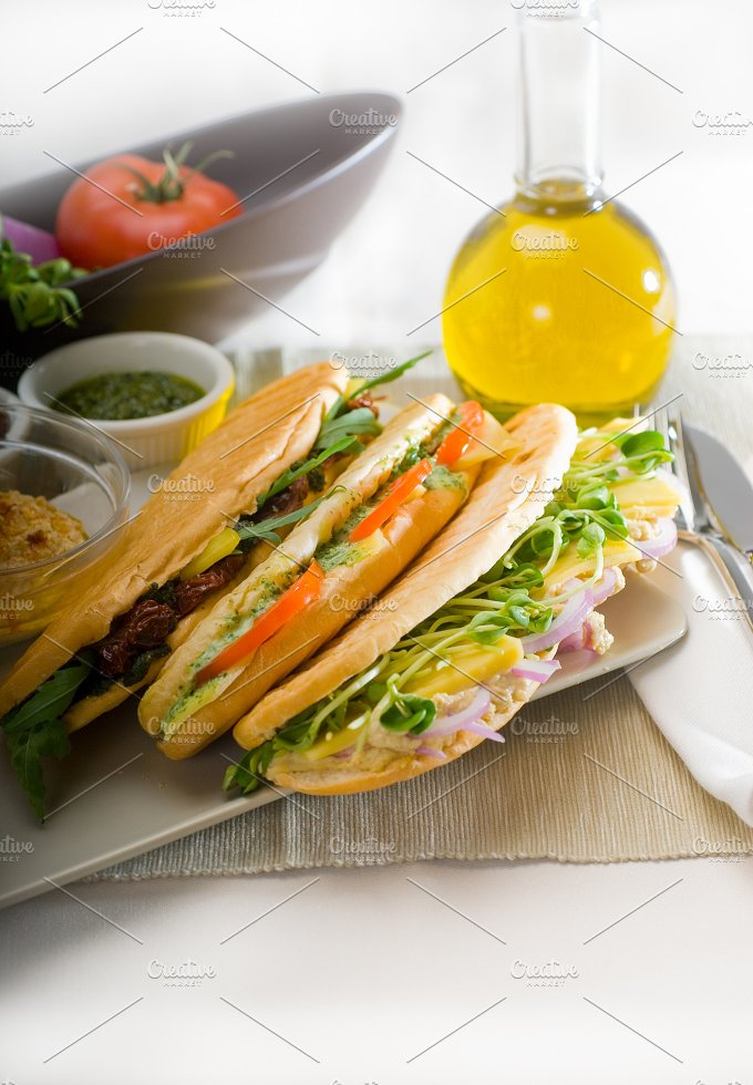 mix italian panini sandwich 11.jpg - Food & Drink
