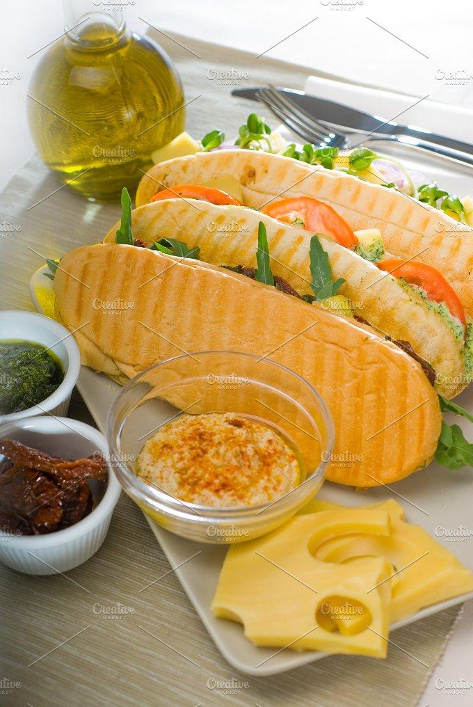 mix italian panini sandwich 13.jpg - Food & Drink