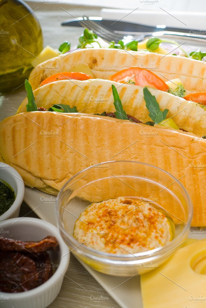 mix italian panini sandwich 16.jpg - Food & Drink