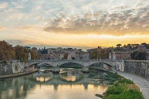 Bridge of Vittorio Emmanuel II, ROME