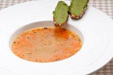 minestrone soup with pesto crostini on side 05.jpg