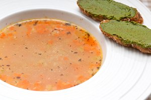 minestrone soup with pesto crostini on side 22.jpg