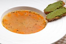 minestrone soup with pesto crostini on side 27.jpg